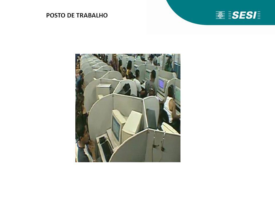 POSTO DE TRABALHO Agora, veremos o que o anexo II da NR 17 trata em específico em relação a audição no posto de trabalho do teleatendente.