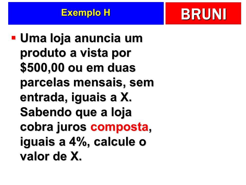 Exemplo H