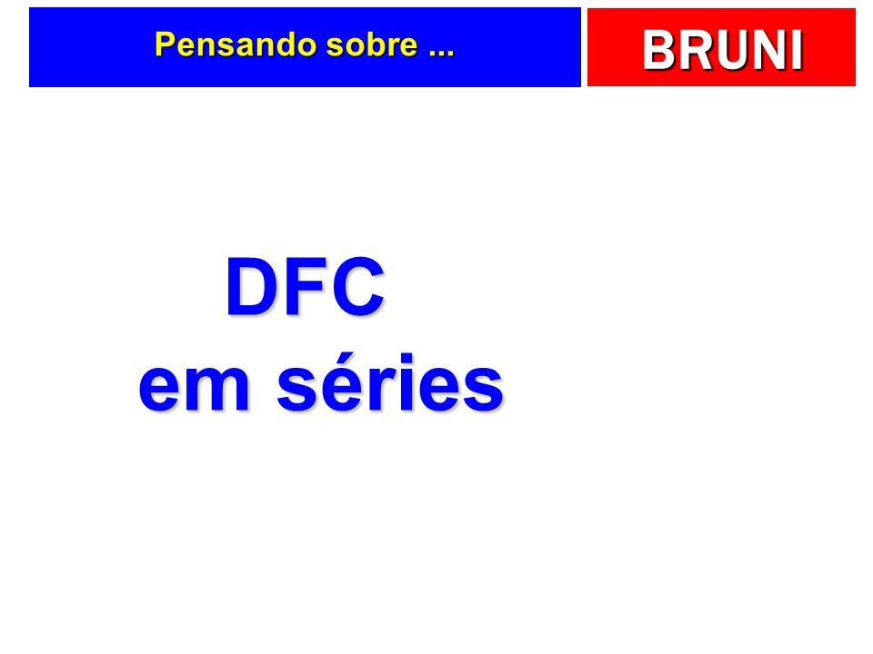 Pensando sobre ... DFC em séries