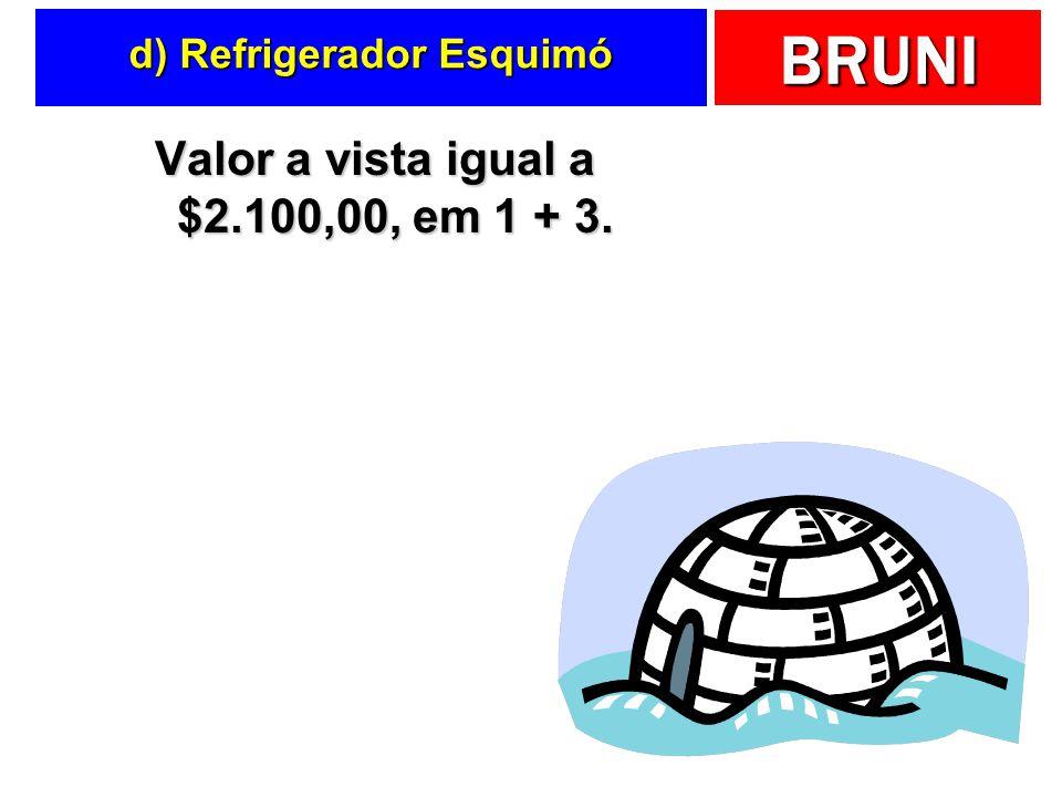 d) Refrigerador Esquimó