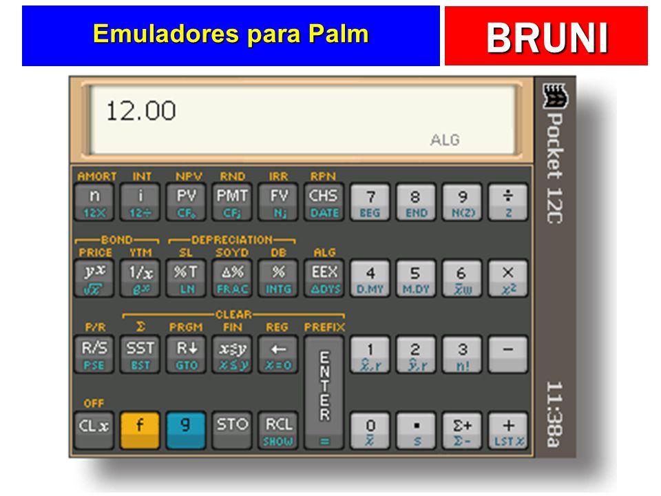Emuladores para Palm