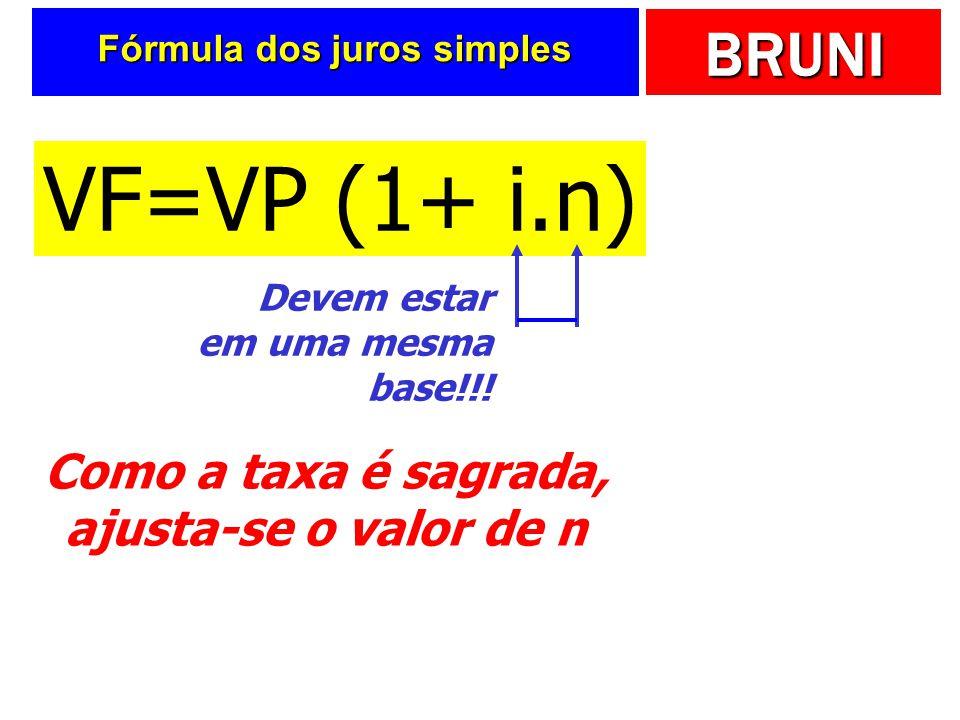 Fórmula dos juros simples