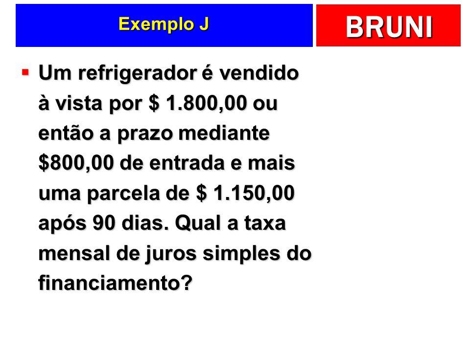 Exemplo J
