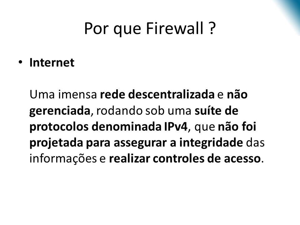 Por que Firewall