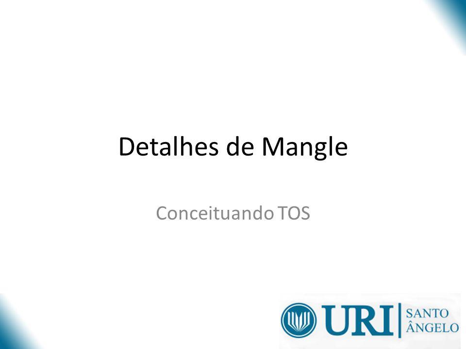 Detalhes de Mangle Conceituando TOS