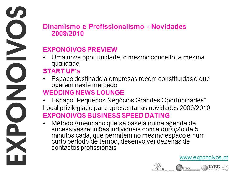 Dinamismo e Profissionalismo - Novidades 2009/2010