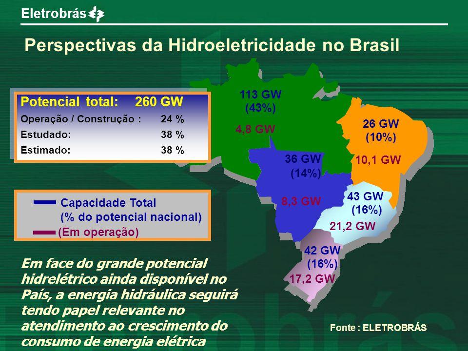 Perspectivas da Hidroeletricidade no Brasil