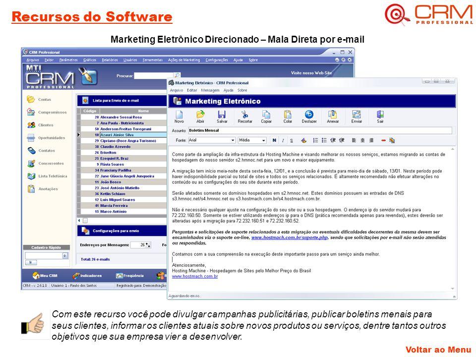 Marketing Eletrônico Direcionado – Mala Direta por e-mail