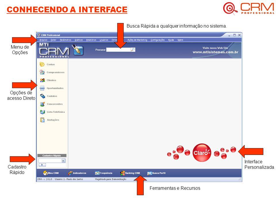 CONHECENDO A INTERFACE
