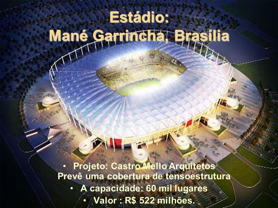 Estádio: Mané Garrincha, Brasília