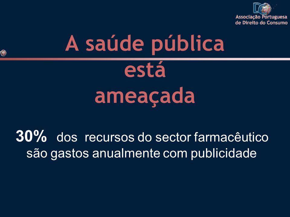 A saúde pública está ameaçada