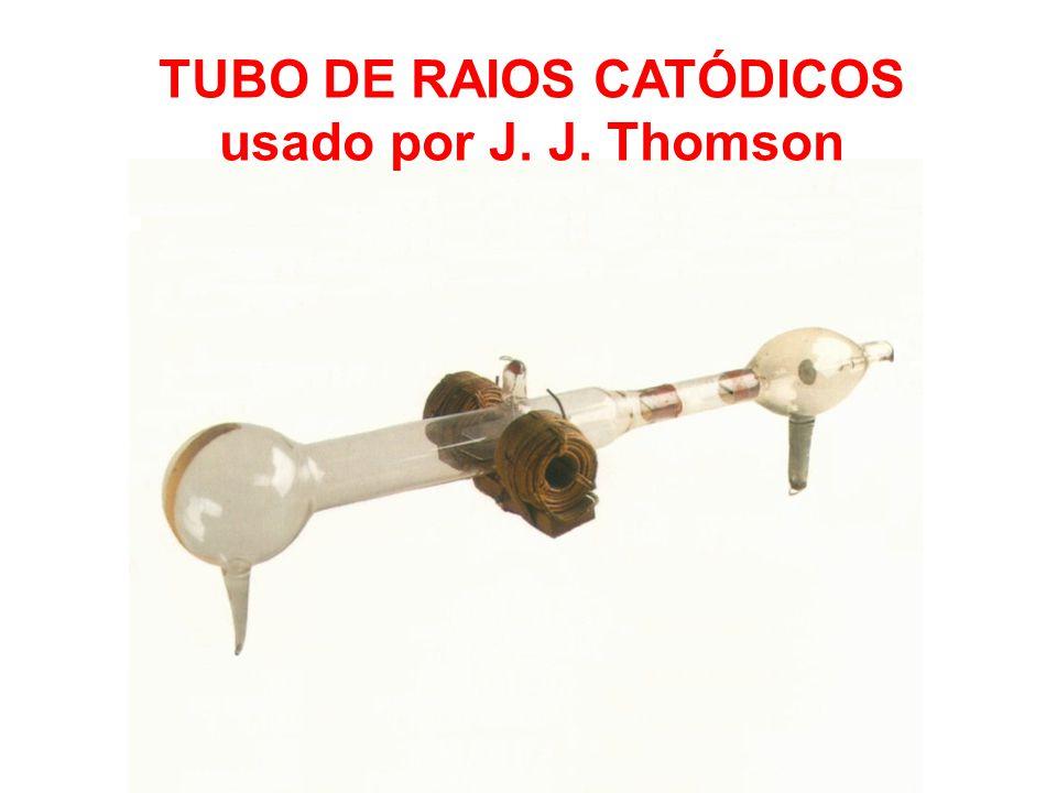 TUBO DE RAIOS CATÓDICOS usado por J. J. Thomson