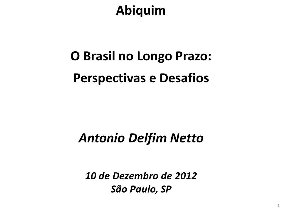 O Brasil no Longo Prazo: Perspectivas e Desafios