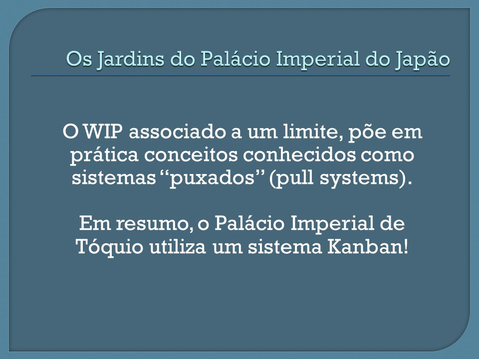 Os Jardins do Palácio Imperial do Japão