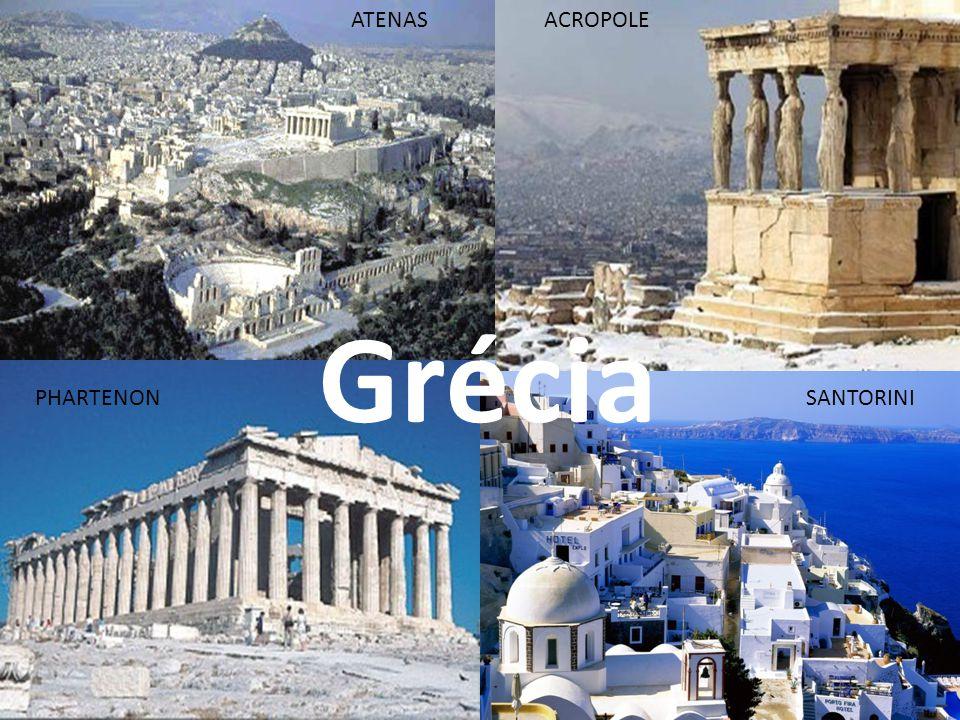 ATENAS ACROPOLE Grécia PHARTENON SANTORINI