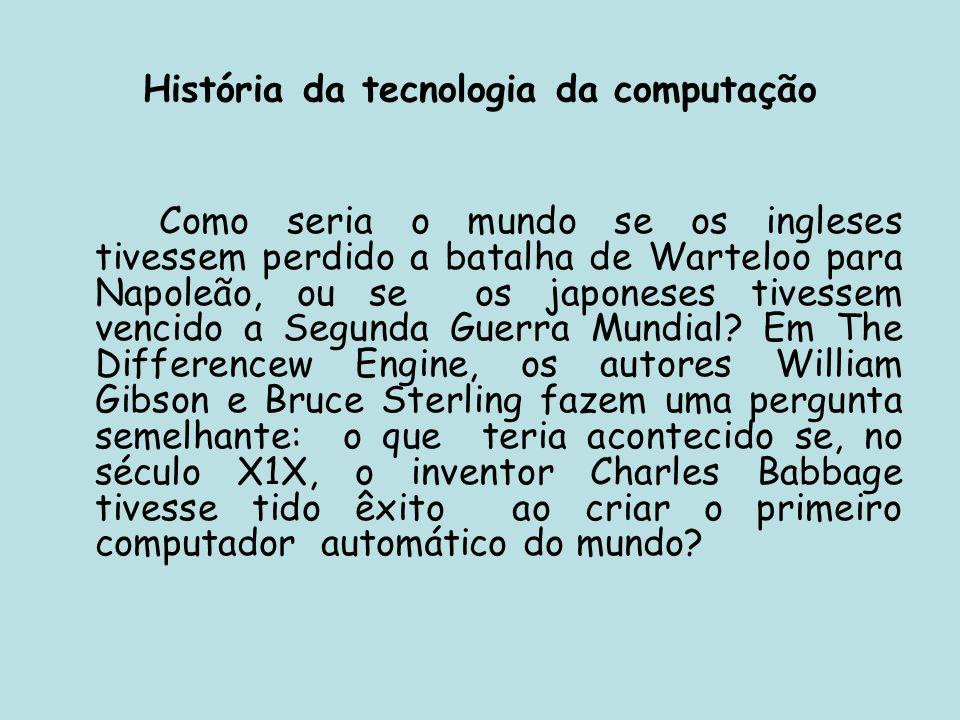 História da tecnologia da computação