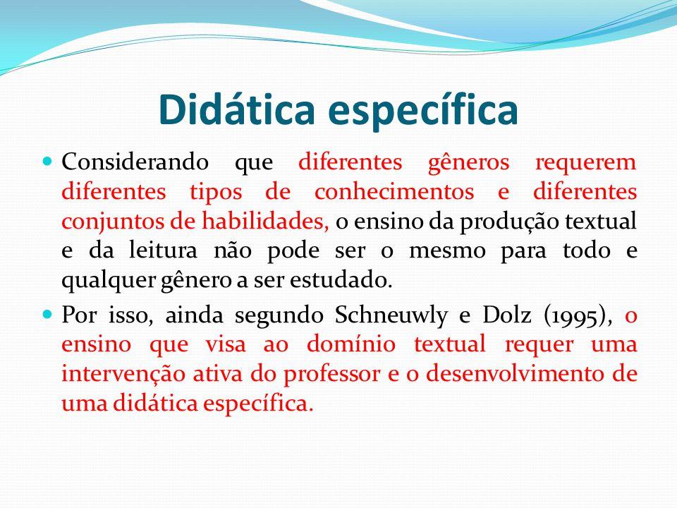 Didática específica
