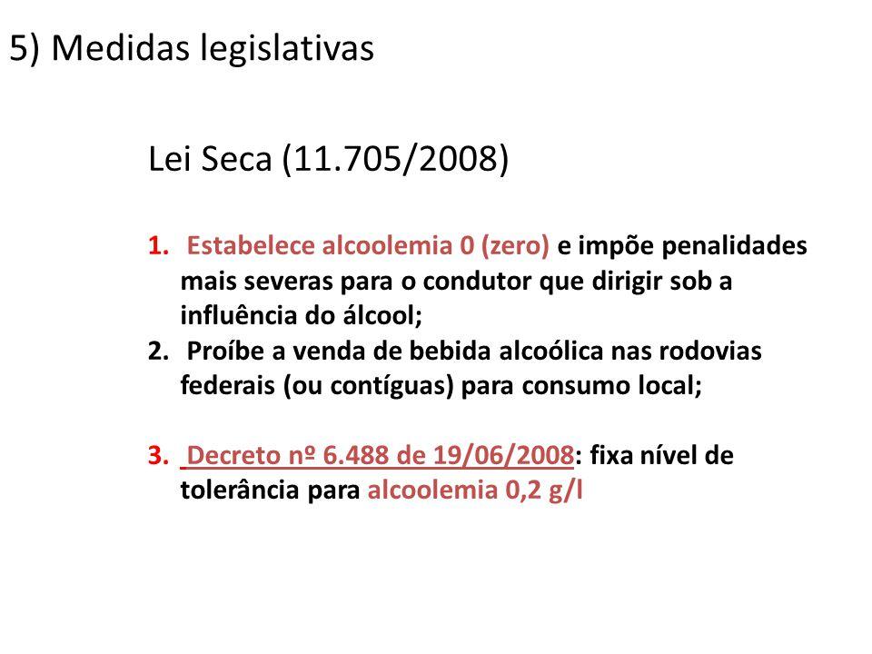 5) Medidas legislativas