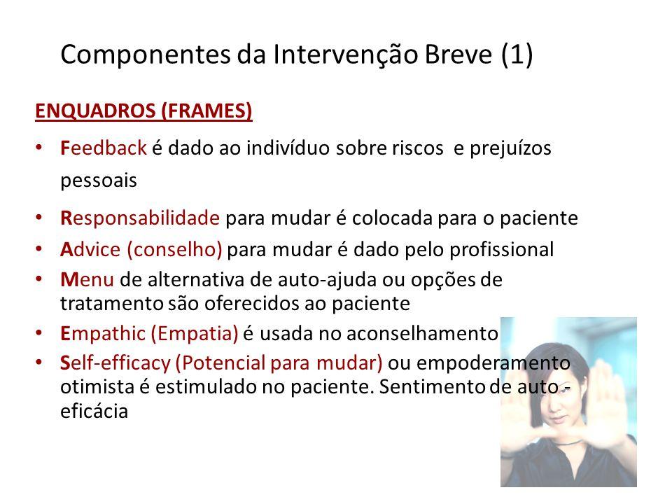 Componentes da Intervenção Breve (1)