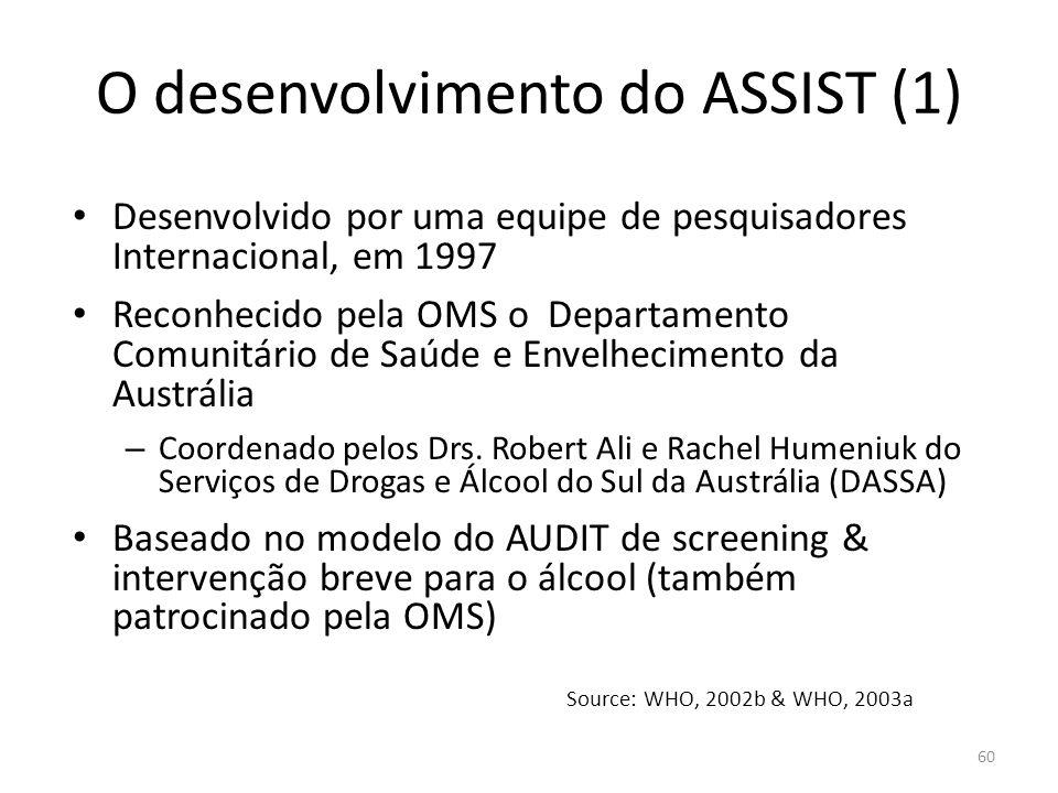 O desenvolvimento do ASSIST (1)