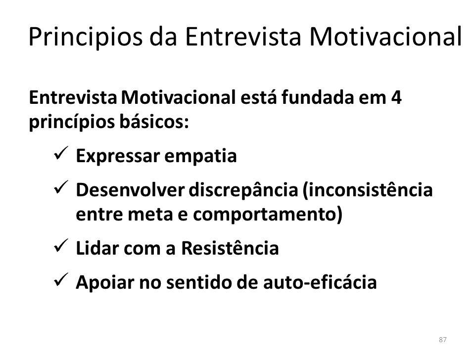 Principios da Entrevista Motivacional