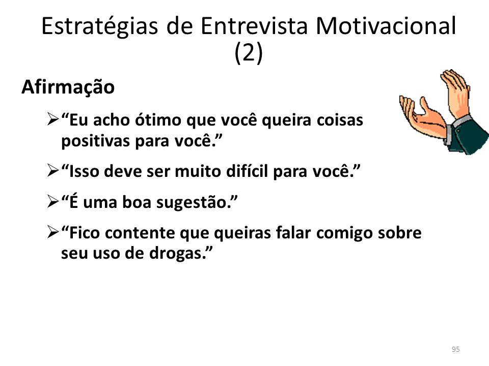 Estratégias de Entrevista Motivacional (2)