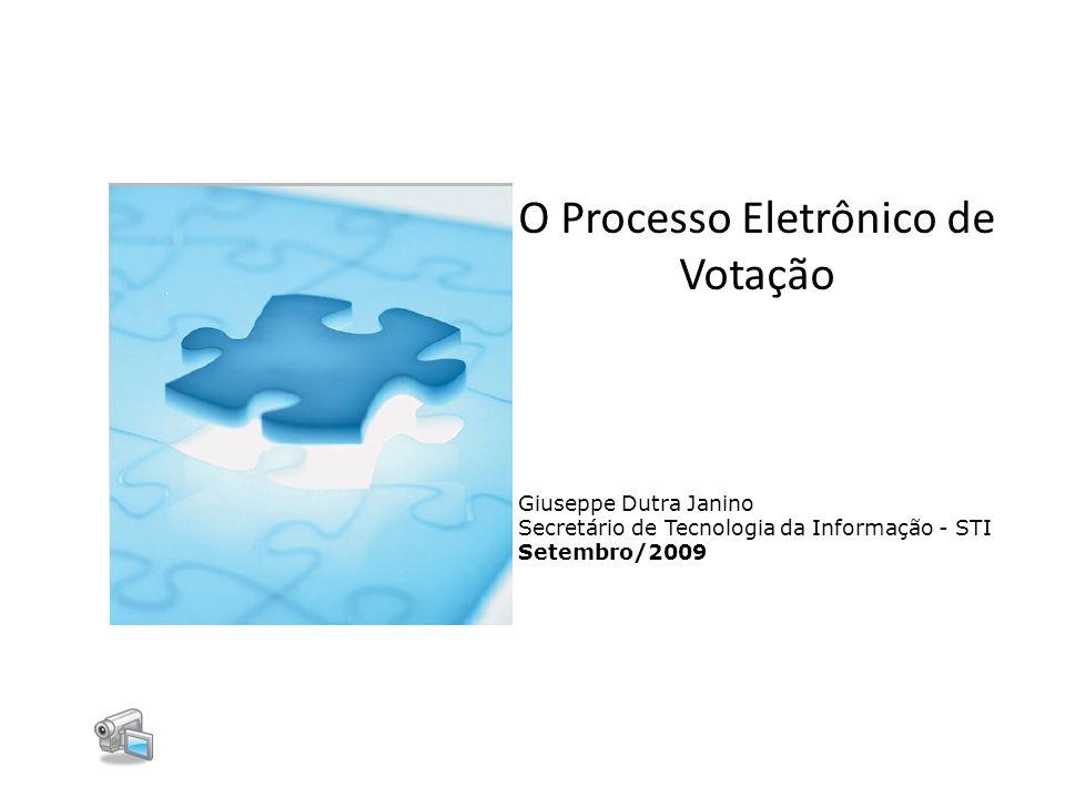O Processo Eletrônico de Votação
