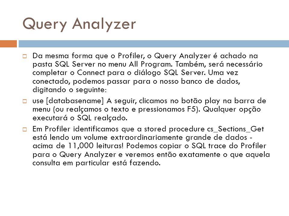 Query Analyzer