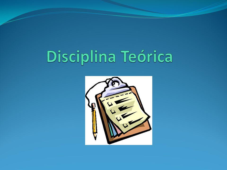 Disciplina Teórica