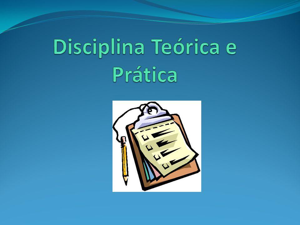Disciplina Teórica e Prática