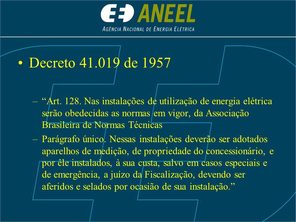 Decreto 41.019 de 1957