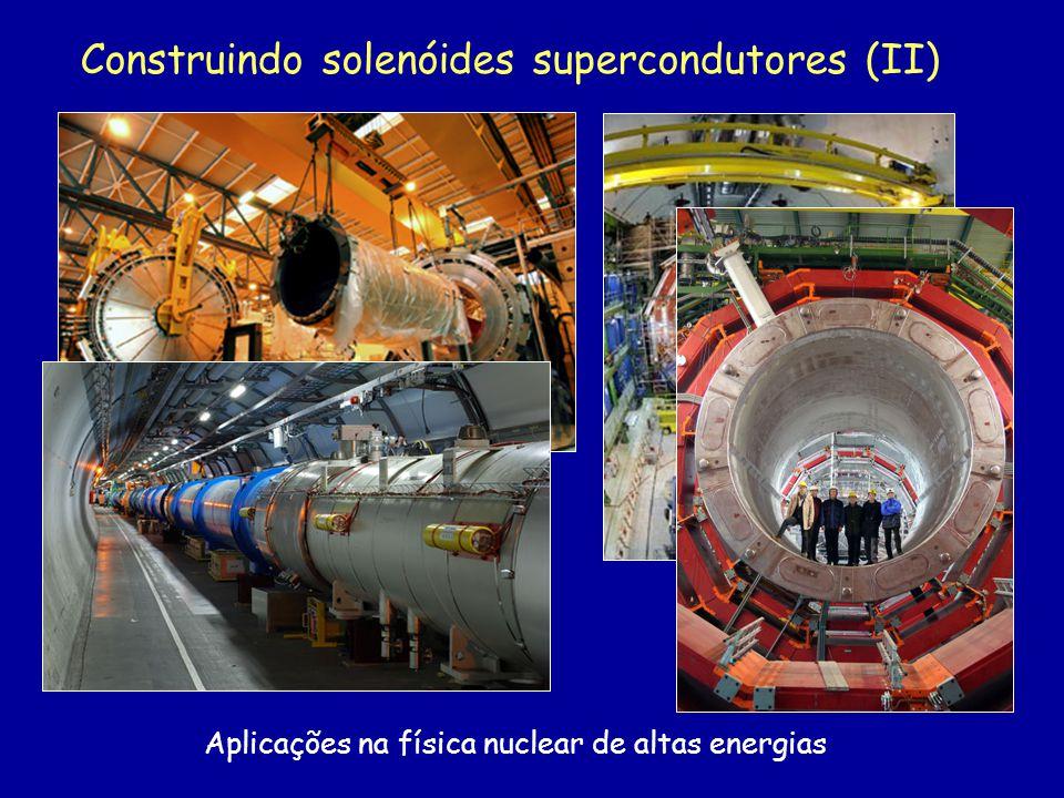 Construindo solenóides supercondutores (II)