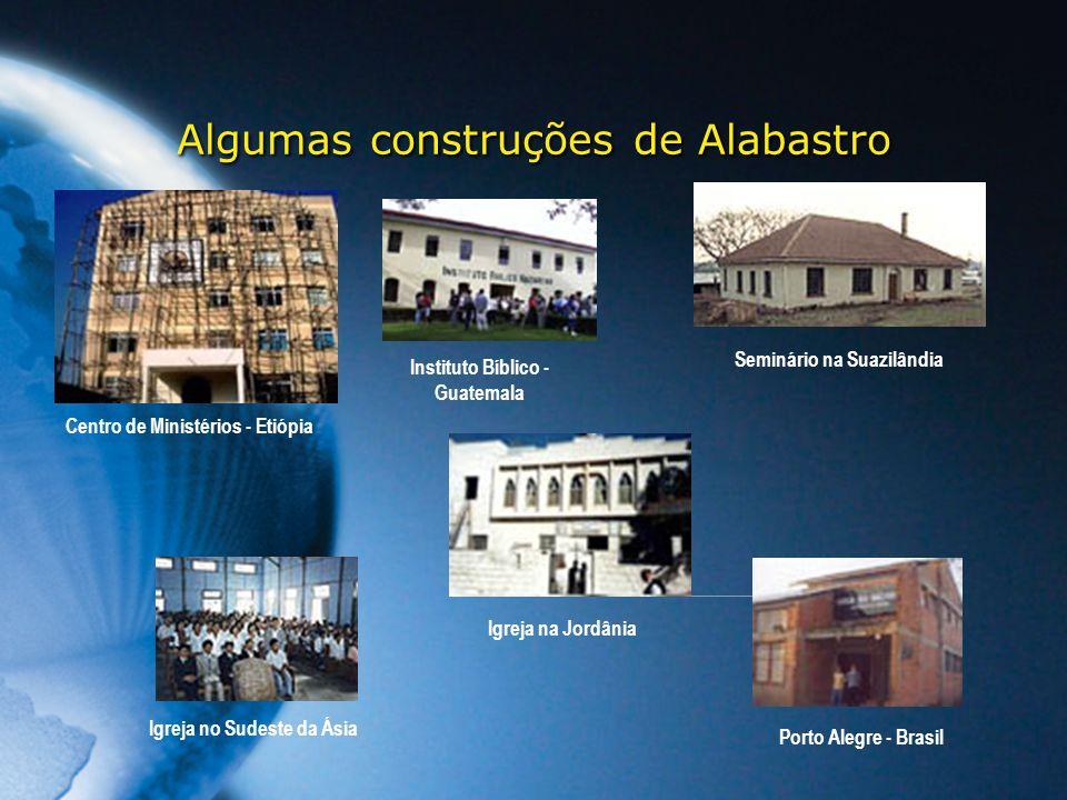 Algumas construções de Alabastro