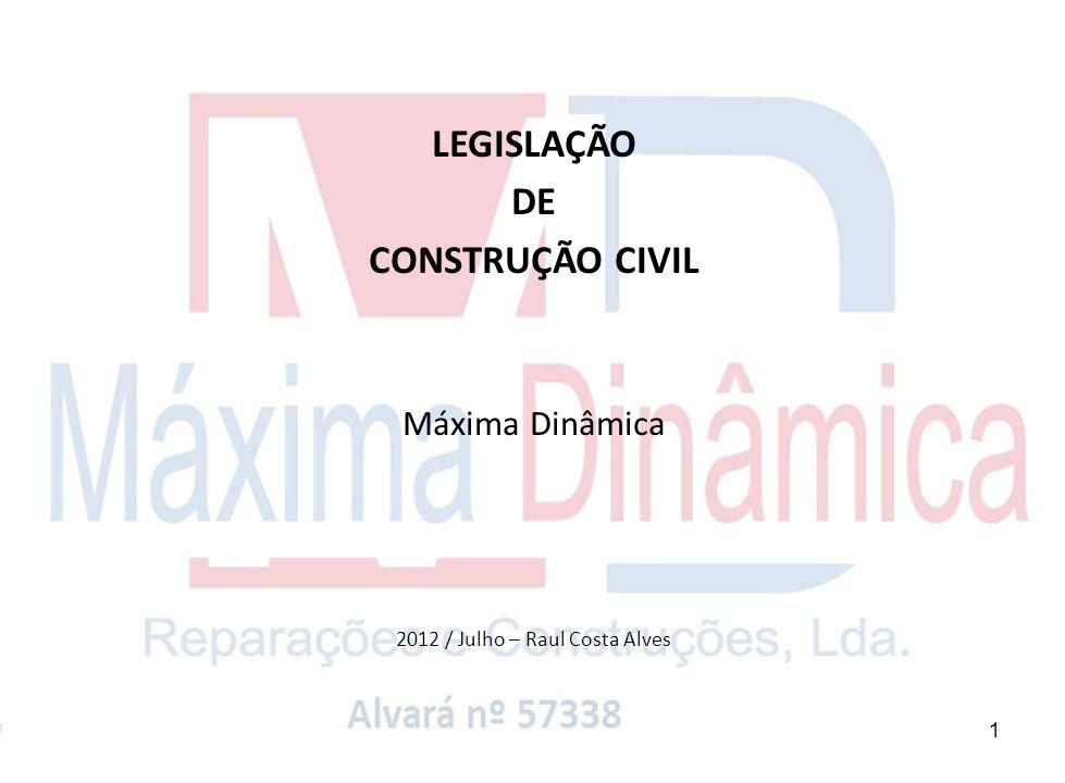 2012 / Julho – Raul Costa Alves