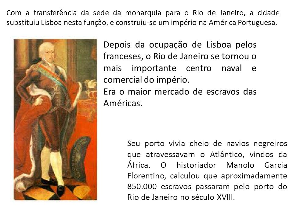 Era o maior mercado de escravos das Américas.