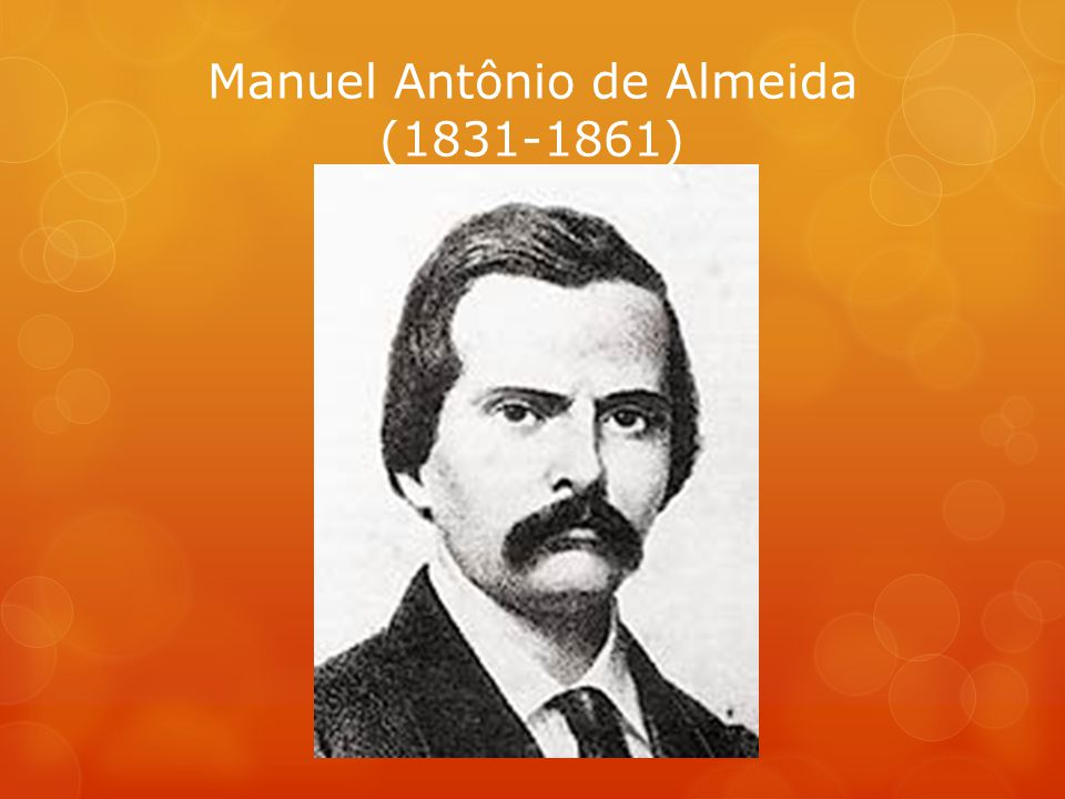 Manuel Antônio de Almeida (1831-1861)