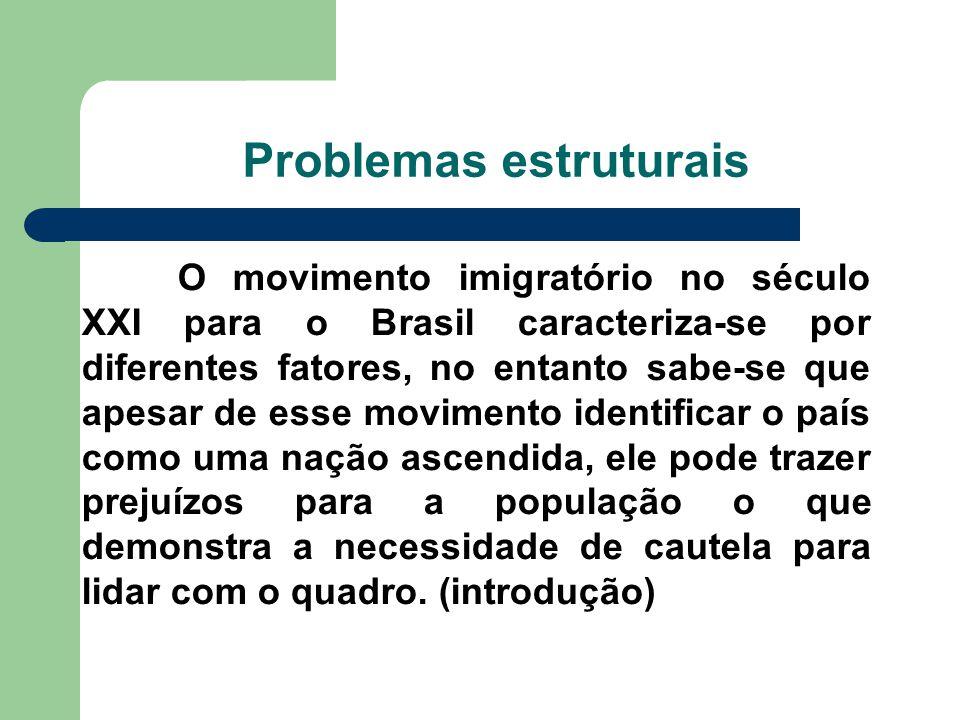 Problemas estruturais
