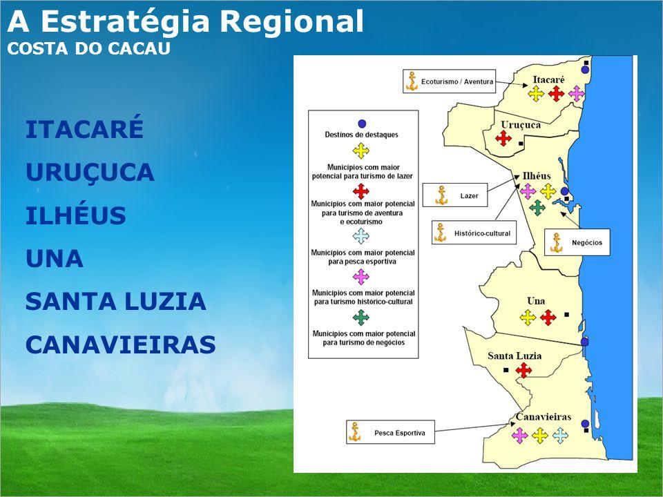 A Estratégia Regional ITACARÉ URUÇUCA ILHÉUS UNA SANTA LUZIA