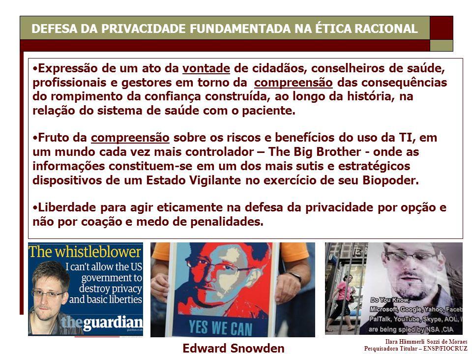 DEFESA DA PRIVACIDADE FUNDAMENTADA NA ÉTICA RACIONAL