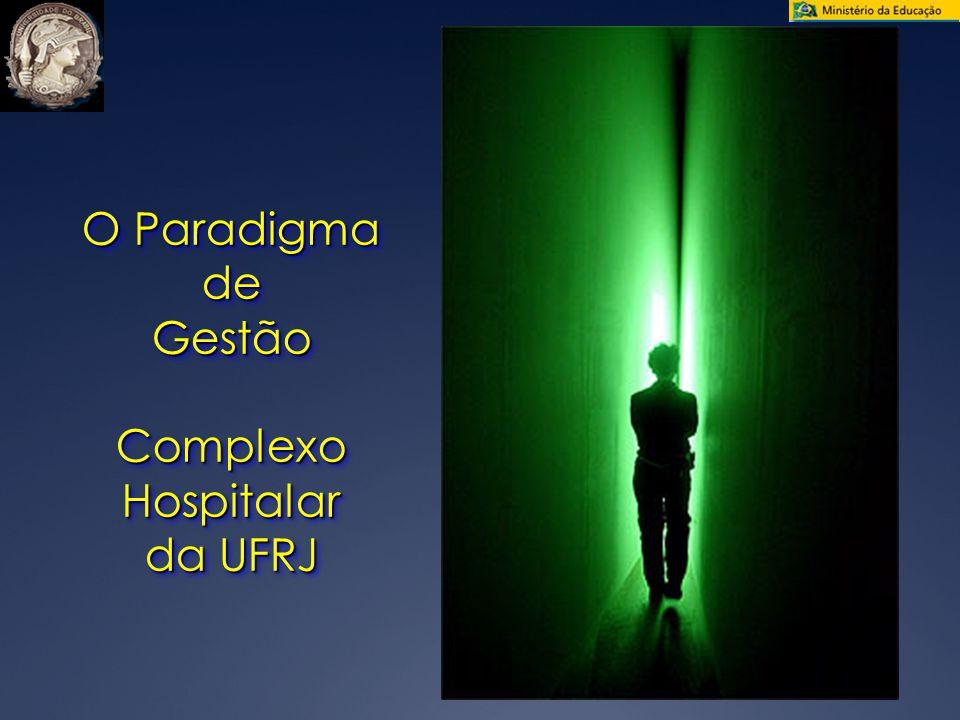 O Paradigma de Gestão Complexo Hospitalar da UFRJ