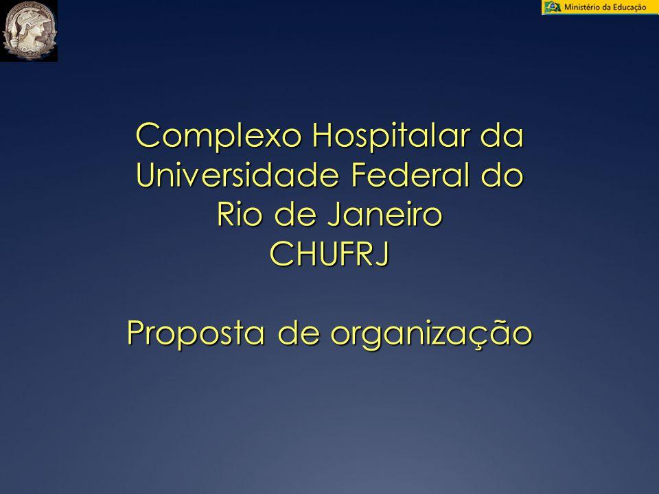 Complexo Hospitalar da Universidade Federal do Rio de Janeiro CHUFRJ