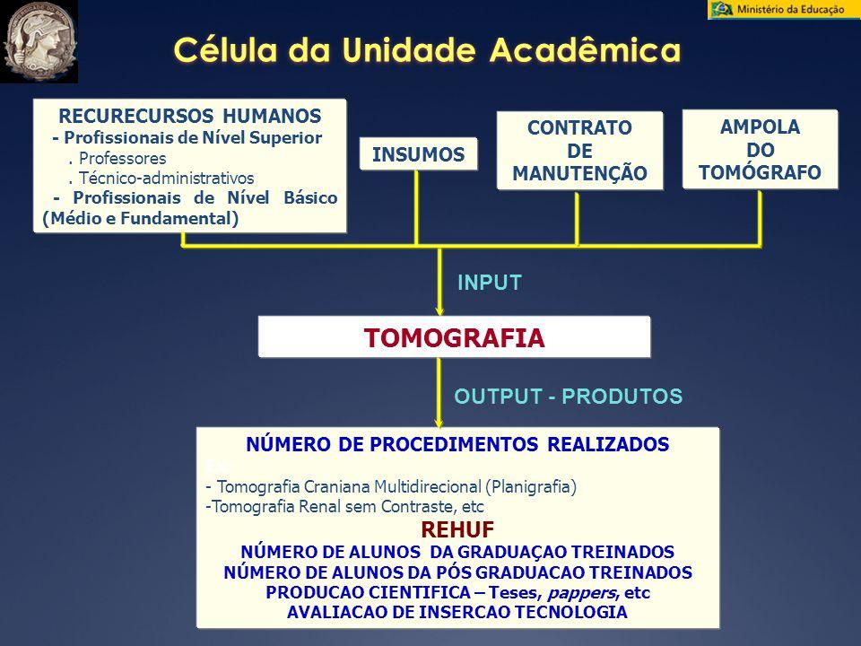 Célula da Unidade Acadêmica