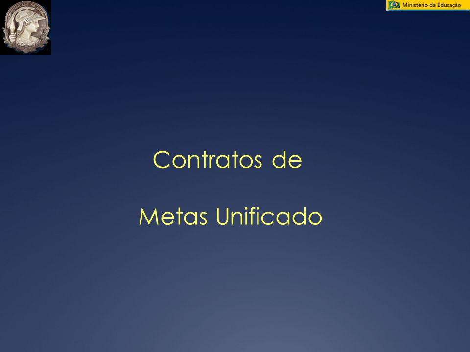 Contratos de Metas Unificado