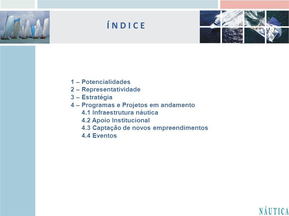 Í N D I C E 1 – Potencialidades 2 – Representatividade 3 – Estratégia
