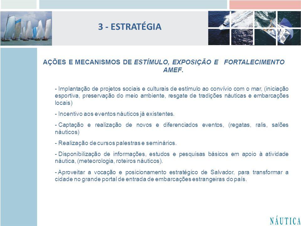 3 - ESTRATÉGIA AÇÕES E MECANISMOS DE ESTÍMULO, EXPOSIÇÃO E FORTALECIMENTO. AMEF.