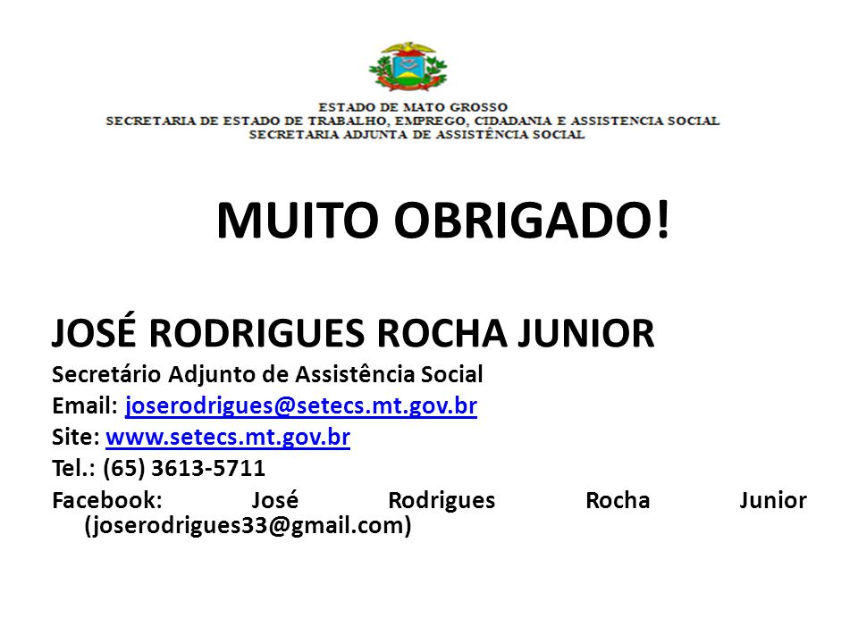 JOSÉ RODRIGUES ROCHA JUNIOR