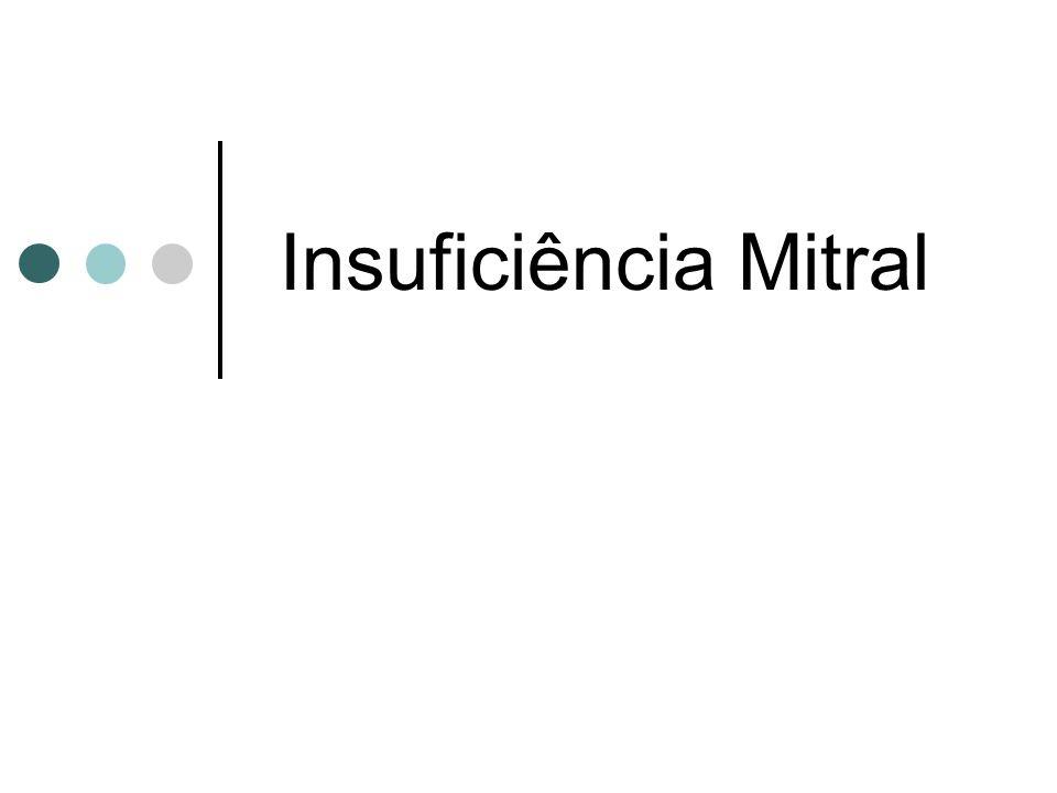 Insuficiência Mitral