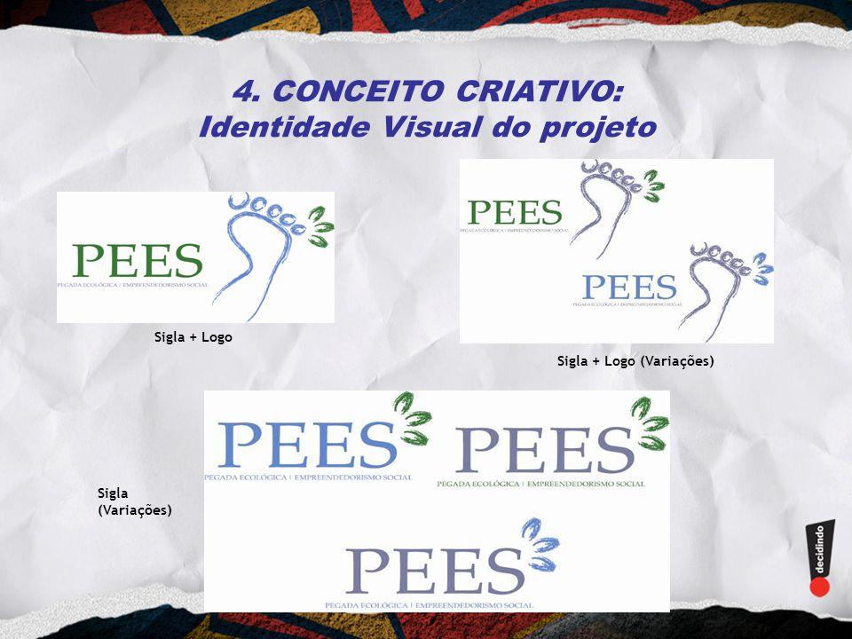 4. CONCEITO CRIATIVO: Identidade Visual do projeto