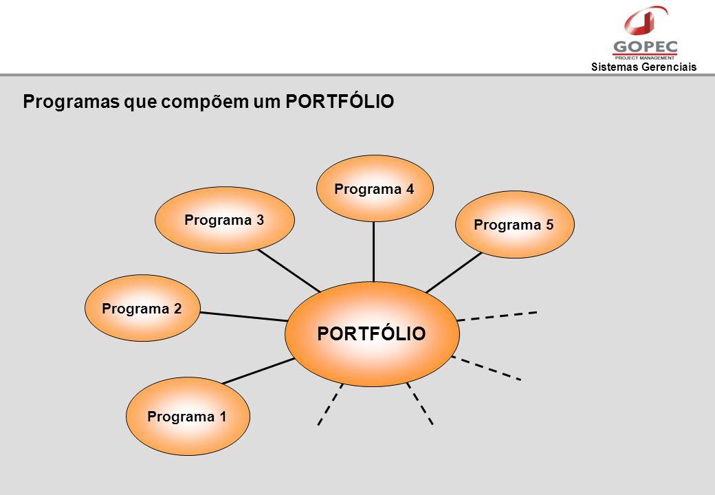 Programas que compõem um PORTFÓLIO