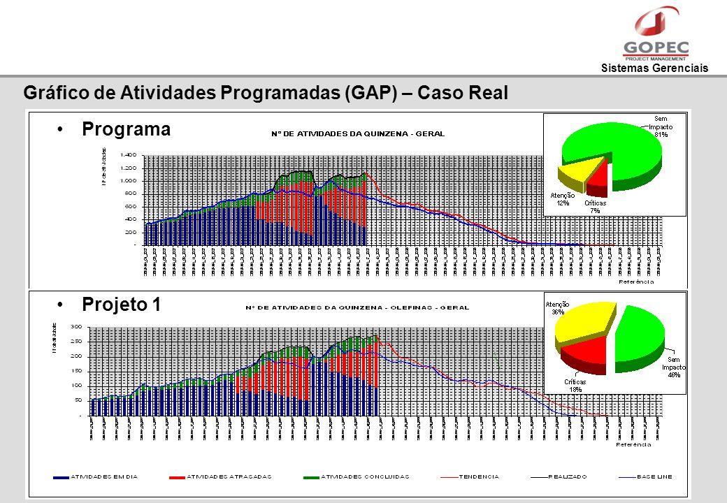 Gráfico de Atividades Programadas (GAP) – Caso Real